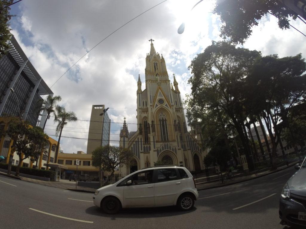 Basílica Nossa Senhora de Lourdes em belo Horizonte