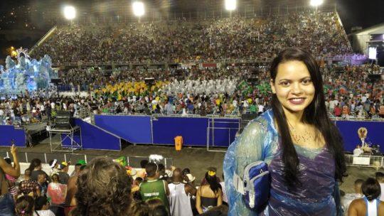 Carnaval no Rio: Desfile das escolas de samba na Sapucaí