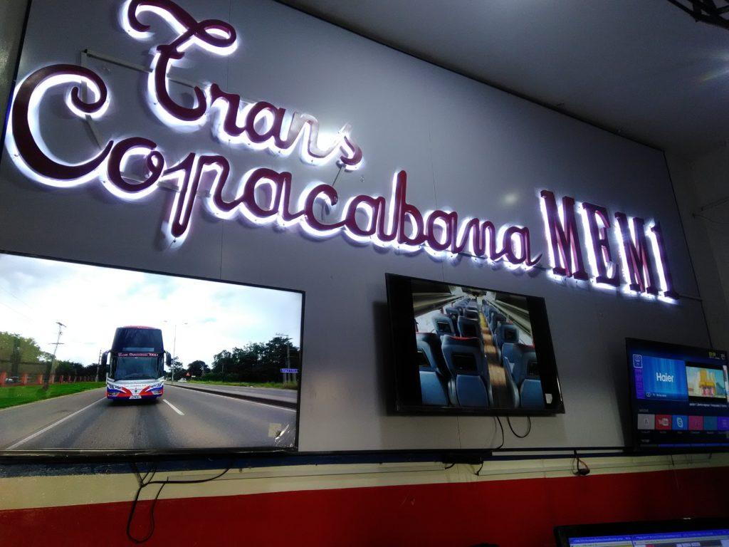 Ir de Santa Cruz a La Paz de ônibus
