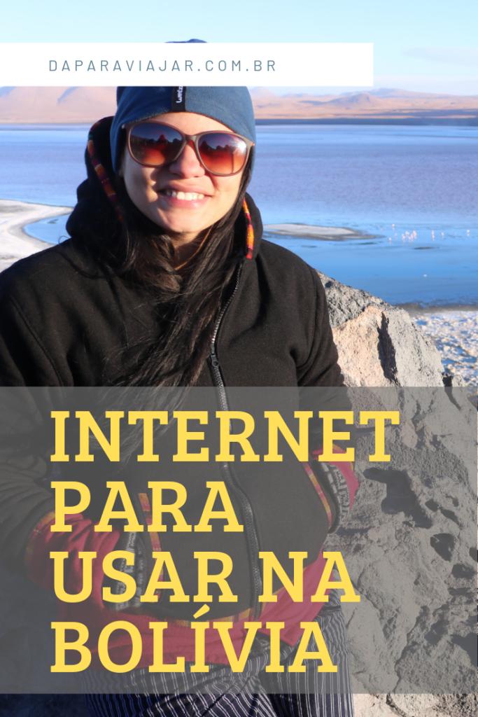 Internet para usar na Bolívia