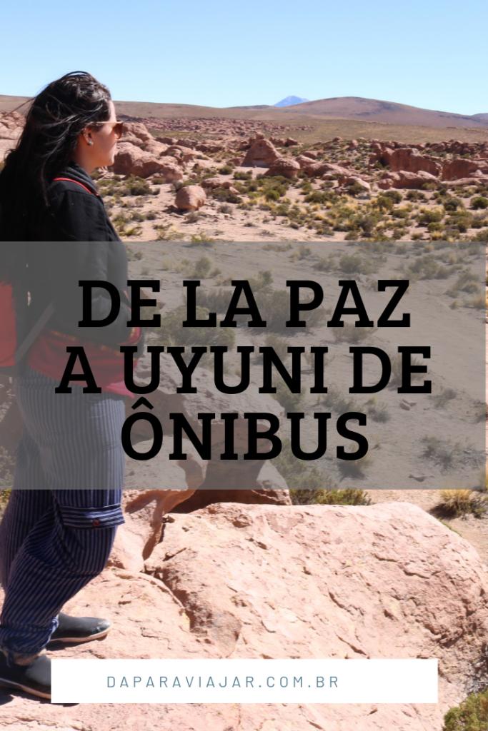 La Paz a Uyuni de ônibus