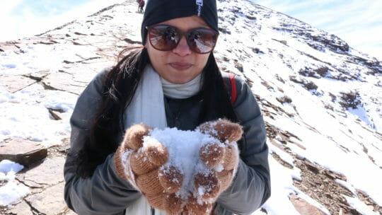 Conhecer a neve barato: Uma aventura com mil reais